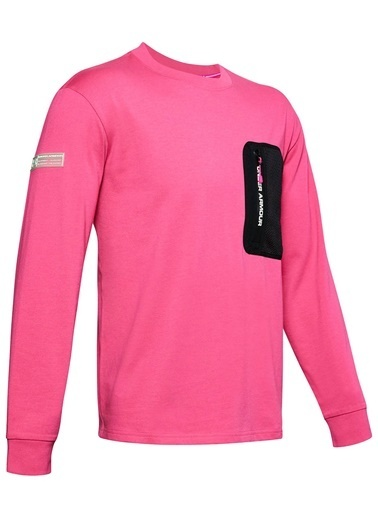 Under Armour Sweatshirt Pembe